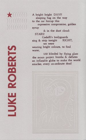 Untitled Broadside